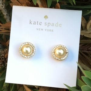 🛍 Kate Spade Pear Earrings